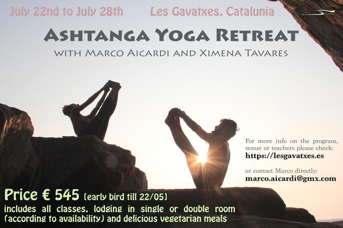 Marco Icardi Yoga Retreat