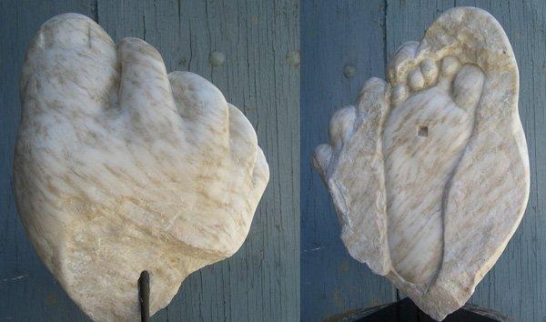 Escultura por Natalie Staniforth en alabastro