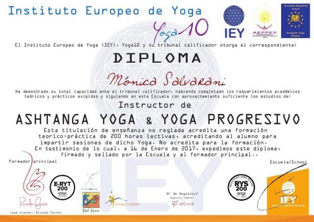 Ashtanga Yoga Diploma